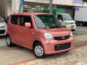日産 モコ S プッシュスタート アイドリングストップ ナビ フルセグTV バックカメラ 本土無事故車