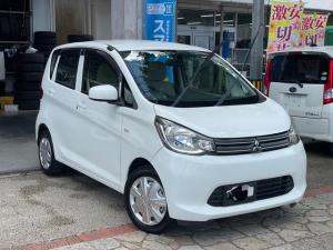 三菱 eKワゴン E 社外ナビ 地デジTV CD バックカメラ 電動格納ドアミラー 本土中古車