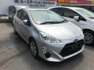 トヨタ アクア S ワンセグナビ