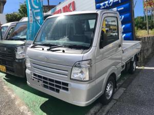 スズキ キャリイトラック KCエアコン・パワステ パワーステアリング エアコン マニュアル車