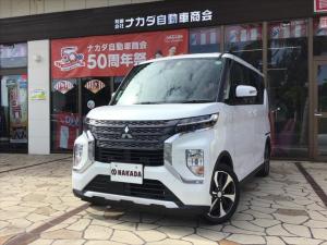 三菱 eKクロススペース G 自社デモカーUP 新車保証継承
