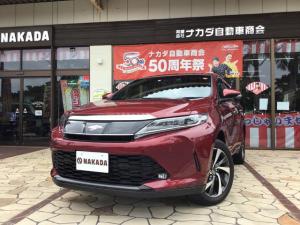 トヨタ ハリアー プレミアム メタル アンド レザーパッケージ 特別仕様車 新車保証継承付き