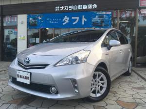 トヨタ プリウスアルファ S 純正ナビ TV Bluetoothオーディオ