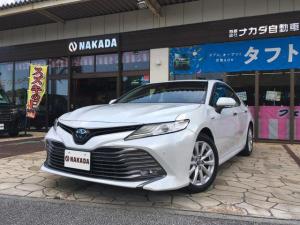 トヨタ カムリ G トヨタセーフティセンス 純正9インチナビ バックカメラ