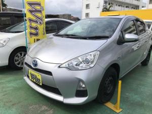 トヨタ アクア L 新品タイヤ キーレス アイドリングストップ ナビ TV Bluetooth ドライブレコーダー