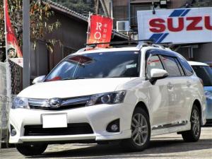 トヨタ カローラフィールダー 1.5G エアロツアラー・ダブルバイビー メモリーナビ 地デジTV ETC バックカメラ ハーフレザー