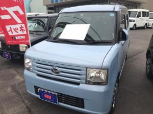 ダイハツ ムーヴコンテ X 軽自動車 ライトブルー 整備付 CVT エアコン