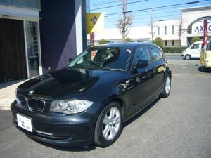 BMW 1シリーズ 120i 前部座席左右パ-ワ-シ-ト ポ-タブルナビ ETC