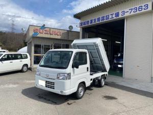 ホンダ アクティトラック  ダンプ エアコン パワステ 4WD バイザー マット フォグランプ 走行38300km