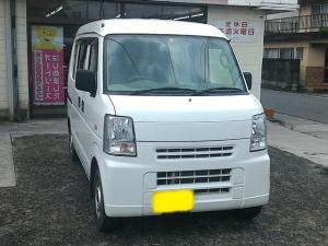 スズキ エブリイ PC キーレス・5速マニュアル車・車検4年1月まで・タイヤ4本新品交換