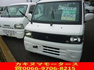 三菱 ミニキャブトラック VX-SE パワーステアリング 4WD 5速マニュアル