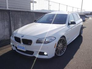 BMW 5シリーズ 523iツーリング Mスポーツパッケージ フルカスタム・G-Power-ER21インチアルミ・3Dデザイン車高調・レムスマフラー・純正HDDナビ・フルセグTV・バックモニター・ハーマンカードンサウンド・パノラマサンルーフ・コンフォートアクセス