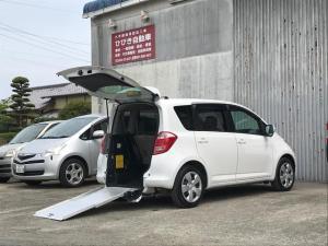 トヨタ ラクティス G 福祉車両 車椅子スローパー エアサス車高調整機能