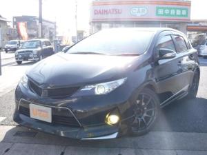 トヨタ オーリス RS Sパッケージ 6MT SDナビTV モデリスタエアロ