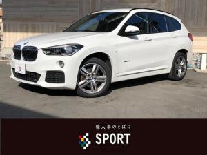 BMW X1 sDrive 18i Mスポーツ インテリセイフティ ナビ
