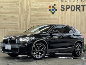 BMW X2 sDrive 18i MスポーツX インテリジェントセーフティ 純正ナビ バックカメラ ブラウンレザー シートヒーター・メモリー パワーバックドア LEDヘッドライト ETC 純正アルミホイール コンフォートアクセス