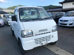 スズキ キャリイトラック 4WD 5速マニュアル パートタイム式 純正ラジオ エアコン