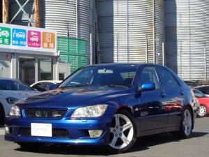 トヨタ アルテッツァ RS200 Zエディション 純正17インチAW 純正ナビ Bカメラ ETC