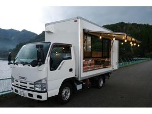 いすゞ エルフトラック  キッチンカー 移動販売 自社制作車両 バックモニター
