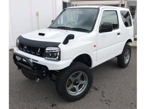 スズキ ジムニー 4WD リフトアップ ステンヒッチメンバー LED Wマフラ
