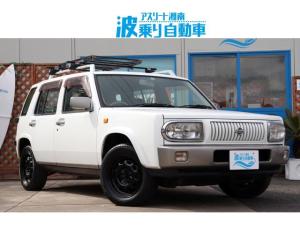 日産 ラシーン タイプII 4WD TERZOルーフキャリア  背面タイヤ