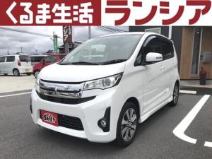 三菱 eKカスタム T ターボ ナビ TV スマートキー 禁煙車 車検整備付