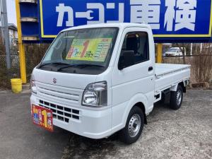 スズキ キャリイトラック KCエアコン・パワステ 4WD エアコン パワステ 5速マニュアル 最大積載量350kg 3方開き 軽トラック