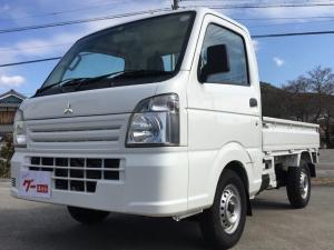 三菱 ミニキャブトラック 5速MT 2WD エアコン パワステ 届出済未使用車