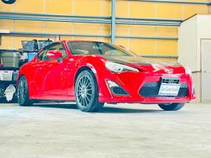 トヨタ 86 GTリミテッド GTリミテッド 社外エアロ 車高調 社外テールランプ GTウイング 社外17インチAW 純正ナビ・バックカメラ 6速MT VARISリアスポイラー