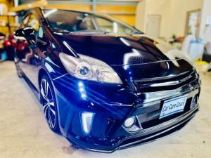 トヨタ プリウス S 社外フルエアロ AW SDナビ LEDヘッド ETC シートカバー