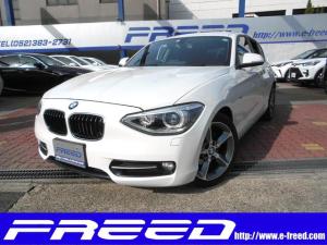 BMW 1シリーズ 116i スポーツ レザーシート ナビ付車 クルコン CD ドラレコ HDDナビ キーレス ナビ スマートキー 盗難防止システム キセノンヘッド 革シート エアバッグ オートライト Wエアコン レザーシート