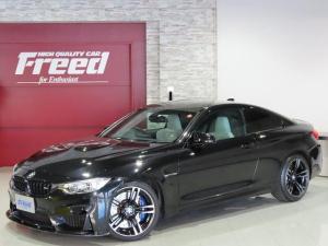 BMW M4 M4クーペ ブラックキドニーグリル 3Dデザインフロントスポイラー オプション19インチ473M鍛造ホイール ヘッドアップディスプレイ レーンディパーチャーウォーニング カーボンファイバールーフ 禁煙車