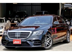 メルセデス・ベンツ Sクラス S560 4マチックロング AMGライン TVキャンセラー CDプレーヤー シートマッサージ 新車保証