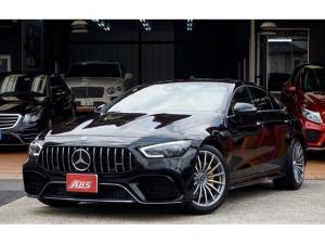 メルセデスAMG GT 4ドアクーペ 63 S 4マチック+ 1オーナー グレーアッシュウッドトリム AMGスポーツシート・レッドペッパー・ブラック仕様 ブルメスタ ガラススライディングルーフ AMGイエローキャリパー