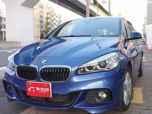 BMW 2シリーズ 218dアクティブツアラー Mスポーツ コンフォートPKG 純正HDDナビ Mスポーツ専用カラー