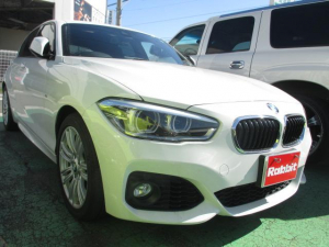 BMW 1シリーズ 118i Mスポーツ 禁煙車 衝突軽減ブレーキ LEDヘッド ナビ スマートキー2個