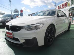 BMW M4 M4クーペ M DCTドライブロジック 1オーナー禁煙ガレージ保管 REMUSマフラービルシュタイン車高調 Mパフォーマンスフルエアロ Mパフォマンスステアリング コーテング DIXCEL Mタイプブレーキパッド