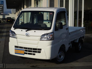 ダイハツ ハイゼットトラック スタンダードSAIIIt 禁煙車 4WD エアコン パワステ 5速MT LEDヘッドライト スマートアシストIIIt ラバーマット ドアバイザー
