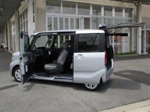 ダイハツ タント X ウェルカムターンシート 福祉車両 スマートキー パワースライドドア