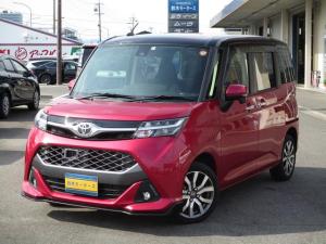 トヨタ タンク カスタムG-T 禁煙車 ターボ 9インチナビ バックカメラ ETC 両側電動スライドドア スマートアシスト2 Bluetoothオーディオ シートヒーター シートバックテーブル スマートキー LEDヘッドライト