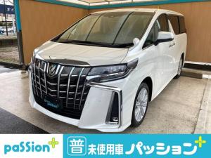 トヨタ アルファード 2.5S 新車未登録 両側電動ドア CD・DVDデッキ