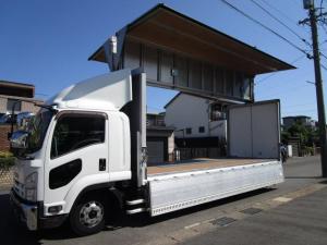 いすゞ フォワード  アルミウイング ワイドロング 内寸625x241x229 2.7t積載 エアーシート HID AW PDG-FRR34S2 7.8Lターボ 6速 車両総重量7990キロ