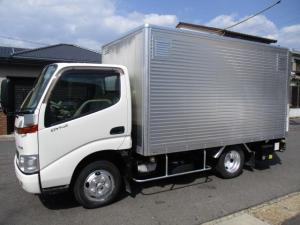 トヨタ ダイナトラック  アルミバン マルチパワーゲート 内寸339x175x170 2トン積載 鉄板張り ラッシングレール 4.6Lノンターボ 5速 KK-XZU307 最大積載量2000キロ 車両総重量5155キロ