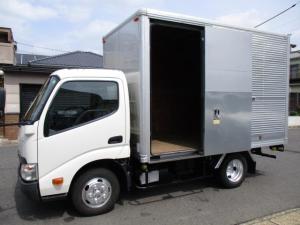 トヨタ ダイナトラック  アルミバン AT 5t免許 内寸318x179x205 2トン積載 スライドドア 4Lターボ AT SKG-XZC605 最大積載量2000キロ 車両総重量4765キロ