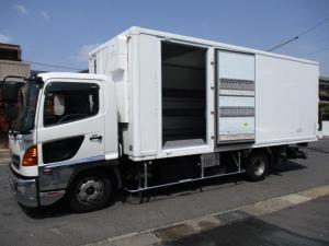日野 レンジャー  冷蔵冷凍車 格納パワーゲート -30度設定サーモキング スタンバイ ワイドロング 内寸606x226x221 KK-FC1JJEA 8Lノンターボ 6速 最大積載量2750キロ 車両総重量7990キロ