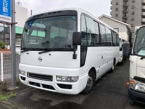 日産 シビリアンバス ロングSV 29人乗り 4.5Lガソリン AT 電動スイングドア ABG-DHW41 TB45Eエンジン スウェード調クロスシート