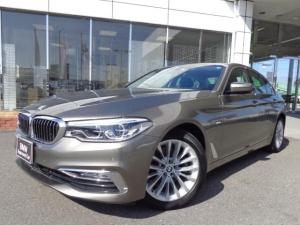BMW 5シリーズ 523iラグジュアリー黒革ランバーサポートデモカー認定中古車