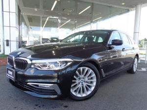 BMW 5シリーズ 523iツーリングLuxury黒革デモカー認定中古車