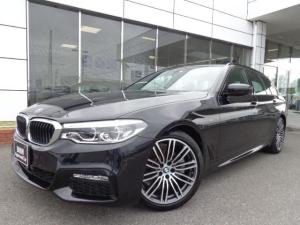 BMW 5シリーズ 523iツーリングMスポーツ黒革ハイライン19AW認定中古車