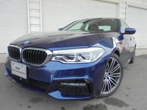 BMW 5シリーズ 523i Mスポーツ黒革ハイライン19AWデモカー認定中古車